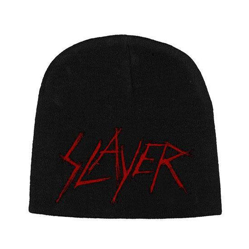 Beanie - Slayer - Scratched Logo-Metalomania