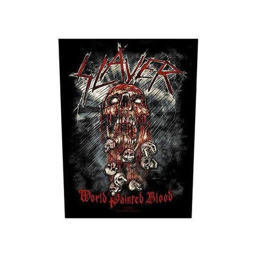 Back Patch - Slayer World Painted Blood-Metalomania