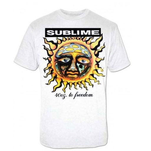 T-Shirt - Sublime 40oz Freedom-Metalomania