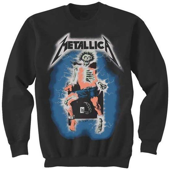 Sweatshirt - Metallica - Electric Chair