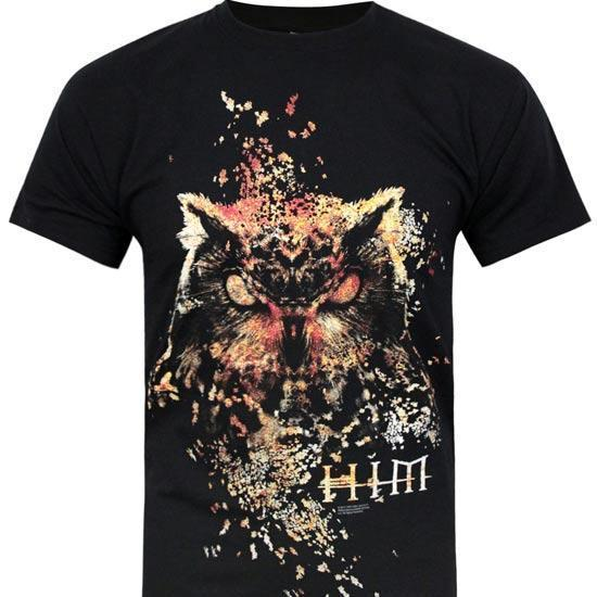 T-Shirt - HIM - Owl-Metalomania