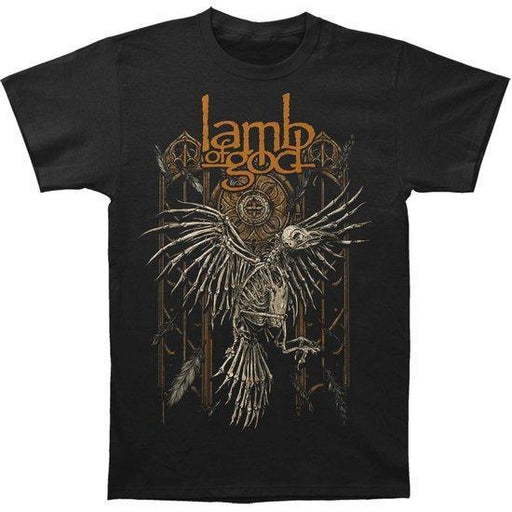 T-Shirt - Lamb of God - Crow-Metalomania
