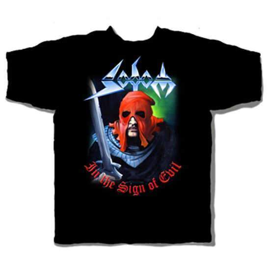 T-Shirt - Sodom - Sign of Evil-Metalomania