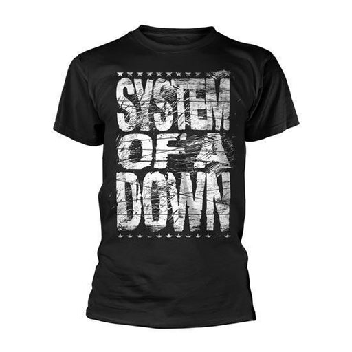 T-Shirt -  System of a Down -  Distressed Logo