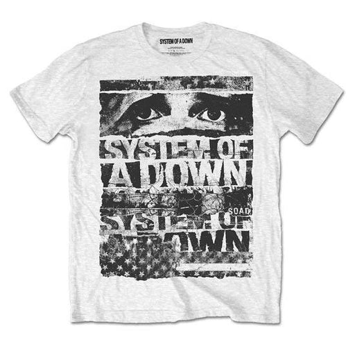 T-Shirt -  System of a Down SOAD -  Torn