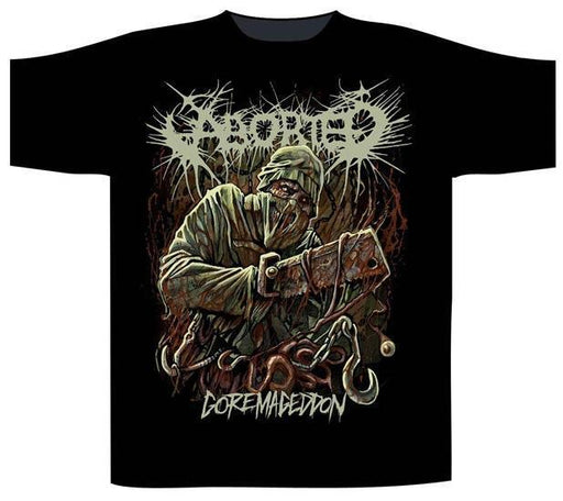 T-Shirt - Aborted - Goremageddon-Metalomania