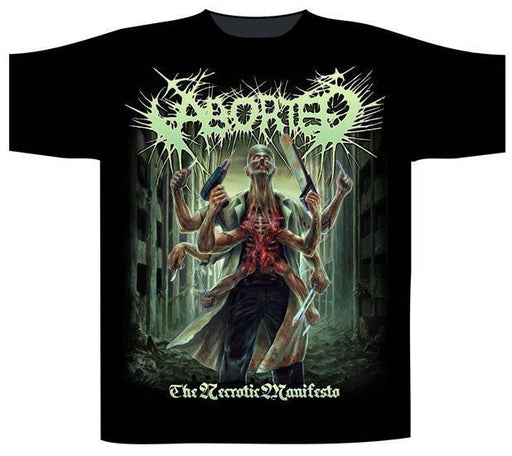 T-Shirt - Aborted - Necrotic Manifesto