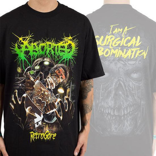 T-Shirt - Aborted - Surgical Abomination-Metalomania