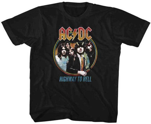 T-Shirt - ACDC - Highway to Hell - Tricolor - Kids
