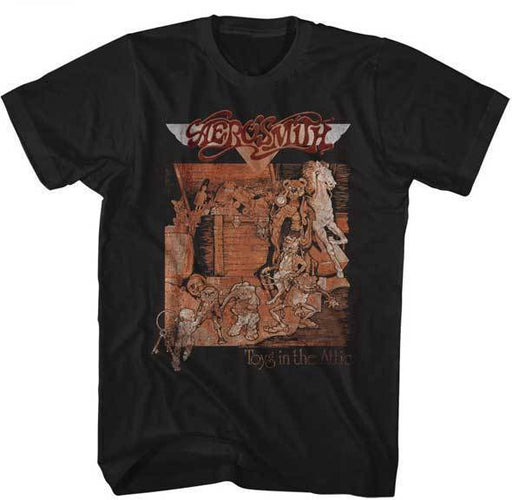 T-Shirt - Aerosmith - Toys Album-Metalomania