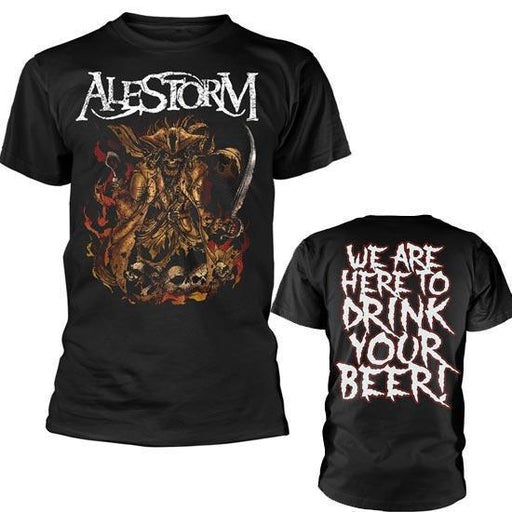 T-Shirt - Alestorm - Here to Drink Your Beer-Metalomania