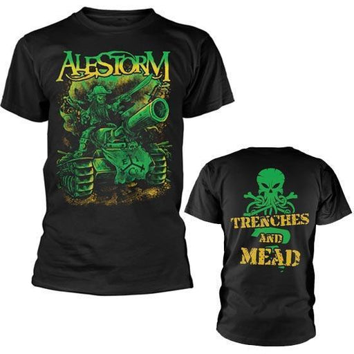 T-Shirt - Alestorm - Trenches and Mead-Metalomania