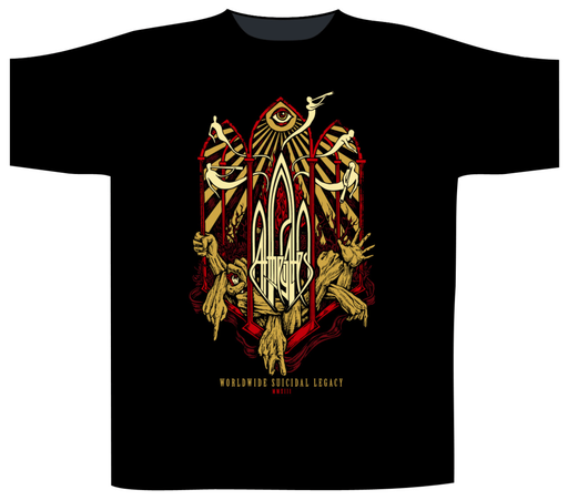 T-Shirt - At The Gates - Suicidal Legacy