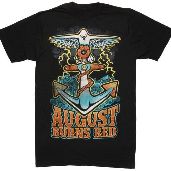 T-Shirt - August Burns Red - Dove Anchor-Metalomania