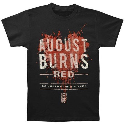 T-Shirt - August Burns Red - Hearts Filled