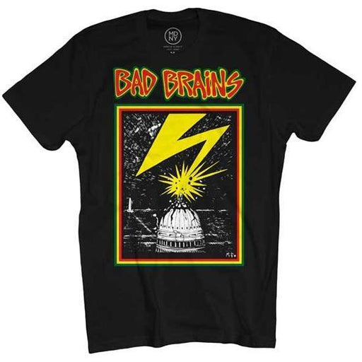 T-Shirt - Bad Brains - Capitol on Black