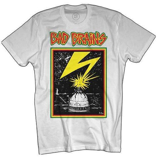 T-Shirt - Bad Brains - Capitol on White