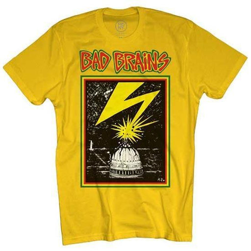 T-Shirt - Bad Brains - Capitol on Yellow-Metalomania