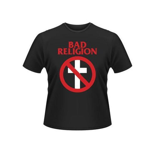 T-Shirt - Bad Religion - Classic Buster White Cross