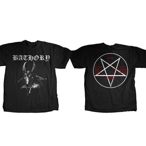 T-Shirt - Bathory - Goat Logo
