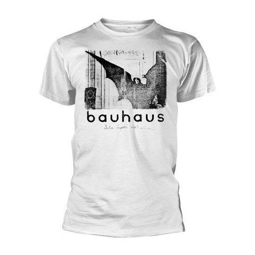 T-Shirt - Bauhaus - Bela Lugosi's Dead Single - White