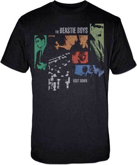 T-Shirt - Beastie Boys - Roots Down-Metalomania