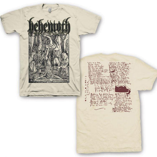 T-Shirt - Behemoth - Lvcifer - Vintage White