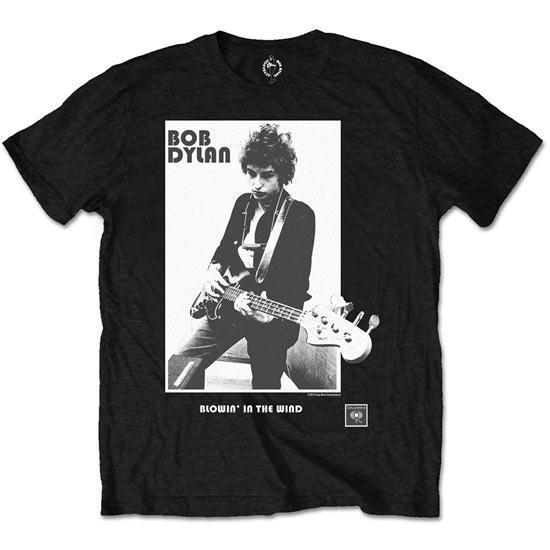 T-Shirt - Bob Dylan - Blowing in the Wind-Metalomania
