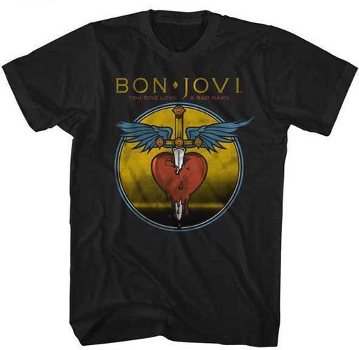 T-Shirt - Bon Jovi - You Give Love a Bad Name