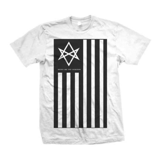T-Shirt - Bring Me The Horizon - Antivist - White-Metalomania