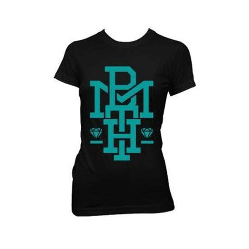T-Shirt - Bring Me The Horizon - Diamond Turquoise (lady)-Metalomania
