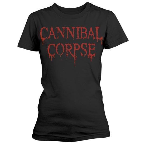 T-Shirt - Cannibal Corpse - Dripping Logo - Lady-Metalomania
