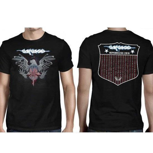T-Shirt - Carcass - Eagle 2016 Tour-Metalomania