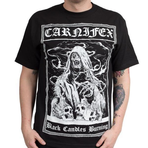 T-Shirt - Carnifex - Black Candles Burning