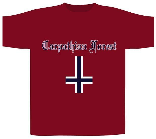 T-Shirt - Carpathian Forest - Norway - Red-Metalomania