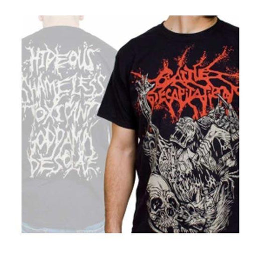 T-Shirt - Cattle Decapitation - Alone Landfill