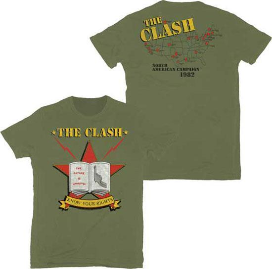 T-Shirt - Clash (the) - Know Your Rights-Metalomania