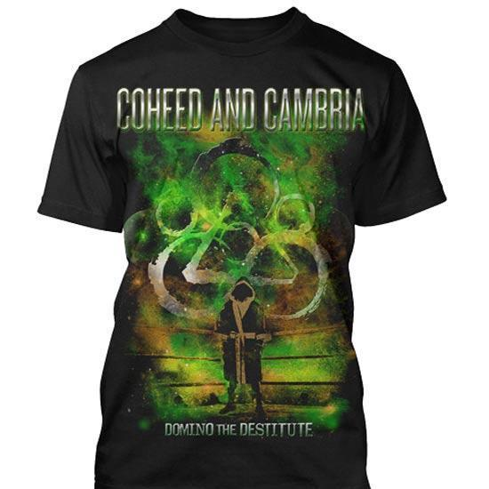 T-Shirt - Coheed & Cambria - Domino-Metalomania