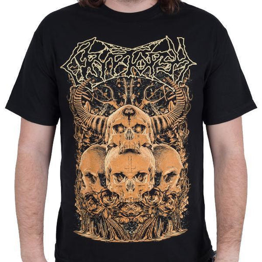 T-Shirt - Cryptopsy - Four Skulls-Metalomania