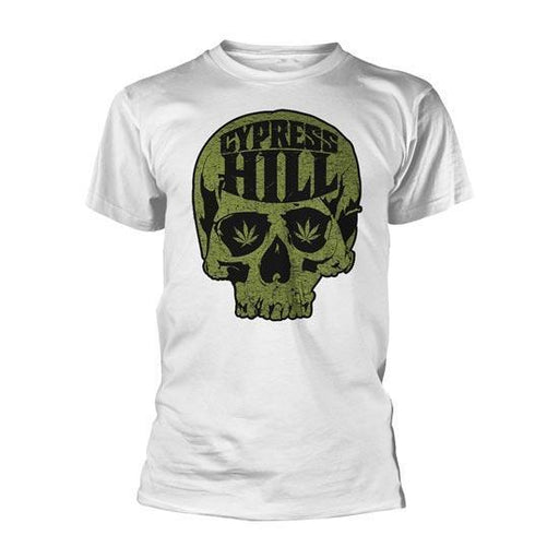 T-Shirt - Cypress Hill - Skull Logo - White