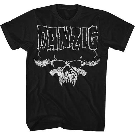 T-Shirt - Danzig - Skull Logo Regular-Metalomania