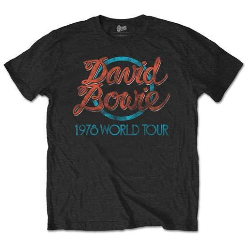T-Shirt - David Bowie - 1978 World Tour