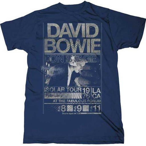 T-Shirt - David Bowie - Isolar Tour 1976-Metalomania