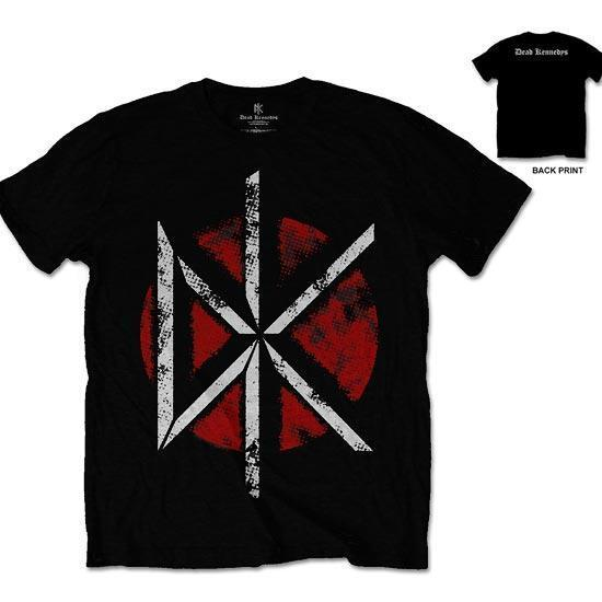 T-Shirt - Dead Kennedys - Distressed Logo (w/back)-Metalomania