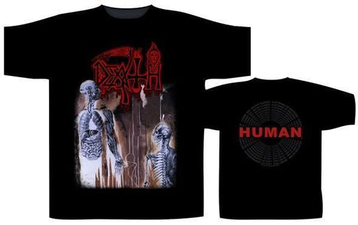 T-Shirt - Death - Human Back Circle