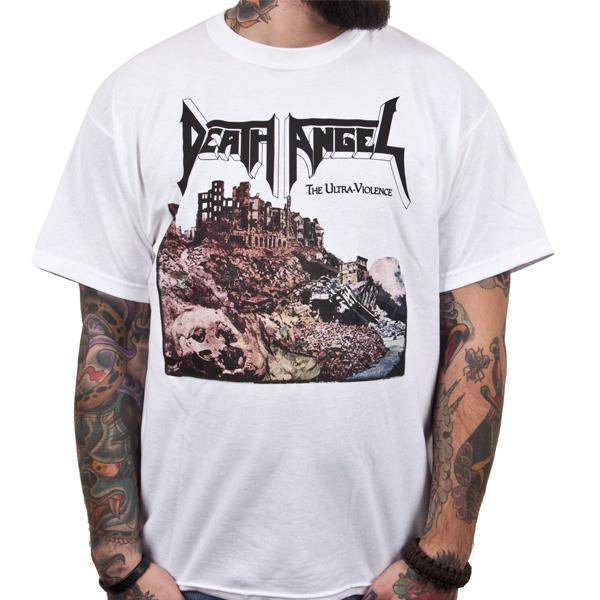 T-Shirt - Death Angel - Ultra-Violence - White-Metalomania