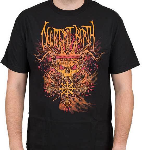 T-Shirt - Decrepit Birth - Skull King -Metalomania
