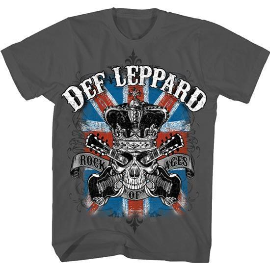 T-Shirt - Def Leppard - Rock of Ages-Metalomania