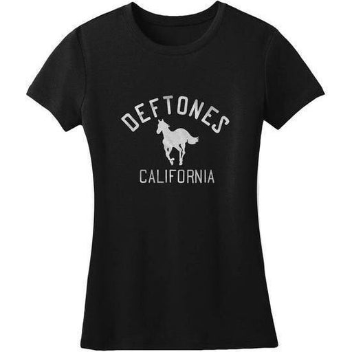 T-Shirt - Deftones - Classic Pony - Lady-Metalomania
