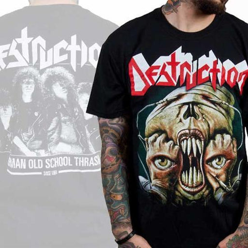 T-Shirt - Destruction - Release From Agony-Metalomania
